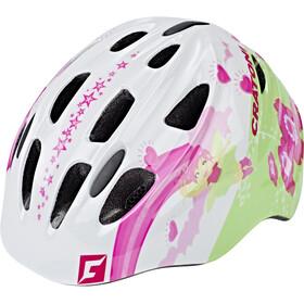 Cratoni Akino Kask rowerowy Dzieci biały/kolorowy